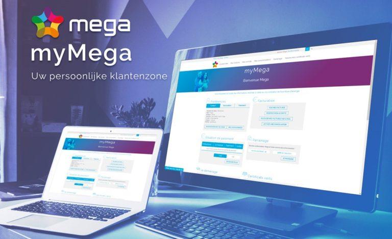Energie online beheren via myMega