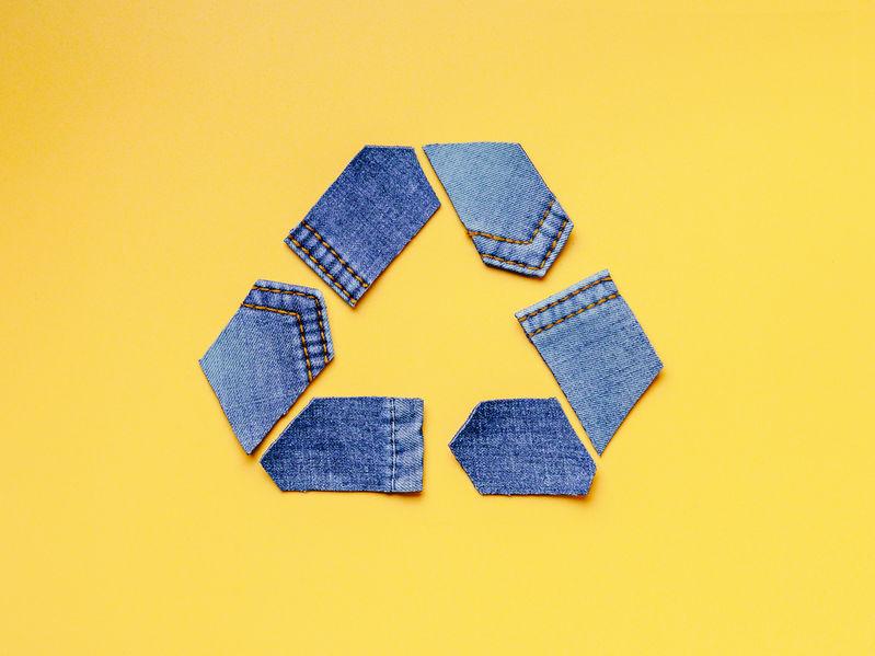 le logo du recyclage