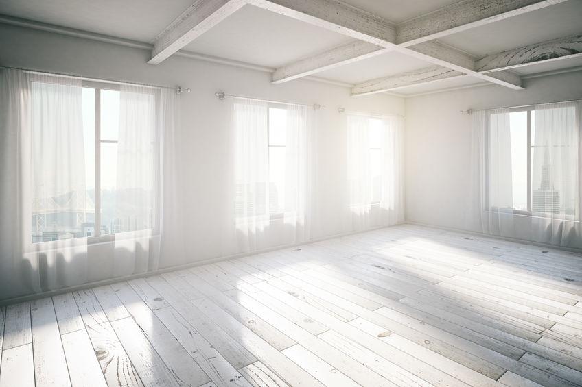 Rayons de soleil fenêtres