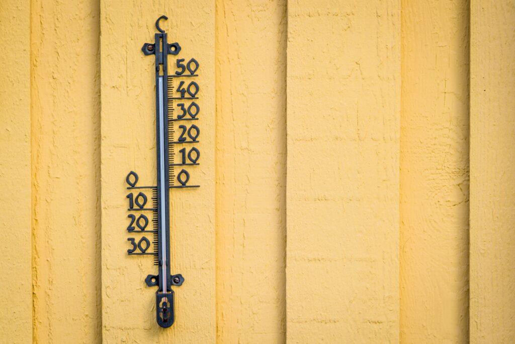 Invloed van de temperaturen op de energiekost