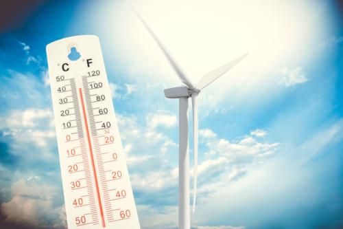 Des prévisions météorologiques précises et de l'énergie renouvelable.