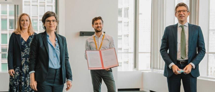 Mega a signé l'Accord pour le Consommateur ce 10 juin.