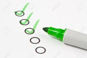Vacances checklist