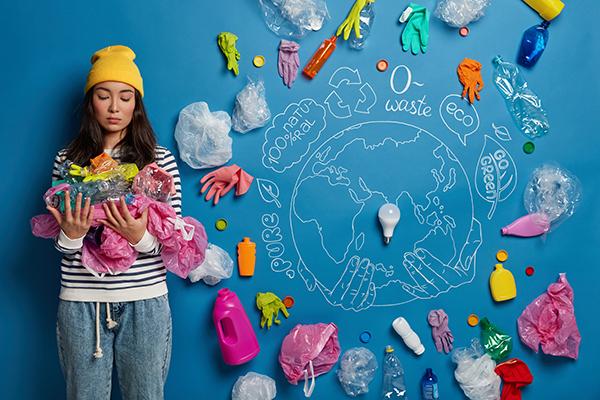 Minder plastic gebruiken